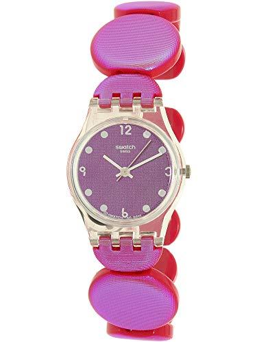 Swatch Women's Lady LK357A Pink Plastic Swiss Quartz Fashion Watch