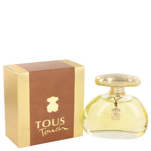 Tous Touch Eau de Toilette Spray for Women, 3.4 Fluid Ounce