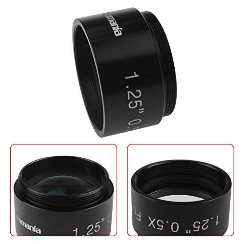 Astromania 0.5X Reducer for Photography and Observing - 1.25