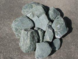 阿波の青石(土留めセット)【通常サイズ10石セット】お庭のアクセントや土留めに B0047R7W12