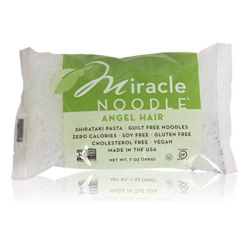 - Miracle Noodle Shirataki Angel Hair Noodles 10 Pack