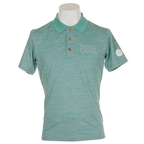 半袖ポロシャツ メンズ ロサーセン ROSASEN 2018 春夏 ゴルフウェア M(48) グリーン(021) 044-27543