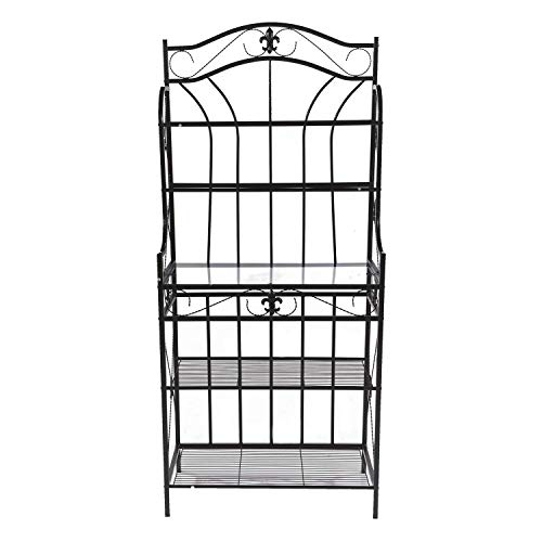 Home Source R-0019 Black Baker's Rack by Home Source (Image #2)
