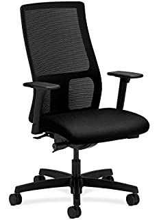 Charmant HON Ignition Series Mid Back Work Chair   Mesh Computer Chair For Office  Desk,