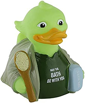 Spa Wars Rubber Duck by Celebriduck Collector Series Yoda Star Wars