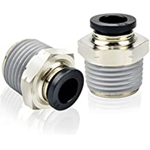 Push to Connect Male Y Fitting 12 mm OD 3//8 NPT