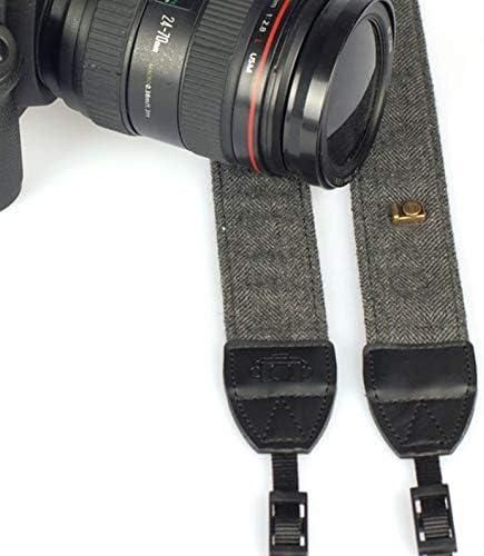 Universal Color Stripes Soft Camera Neck Straps Shoulder Strap Belt Grip Rodalind