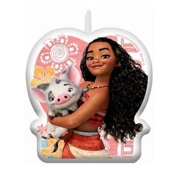 Moana Birthday Candle - Package of 1