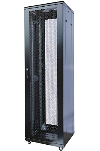 42U Rack Mount Internet/Network Data Server Cabinet Enlosure 800MM (31.5'') Deep by Raising Electronics
