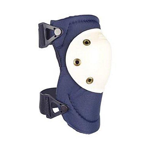 Review ALTA 50903 AltaPRO Knee Protector Pads, Navy Cordura Nylon Fabric, AltaLOK Fastening, Hard Cap, Round, White (One Pair)
