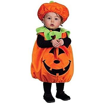 Amazon.com: Disfraz de calabaza de Halloween para niños ...