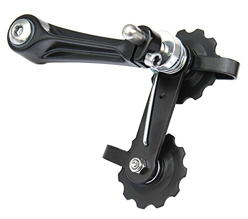 CyclingDeal MTB Road Bike Bicycle Aluminum Chain Tensioner Black by CyclingDeal (Image #1)