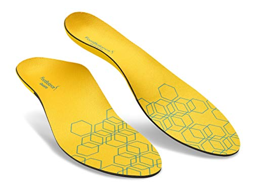 (FootBalance QuickFit Balance Narrow Insole | Men's & Women's Orthotic Inserts | Custom Heat Moldable for Foot Alignment and Arch Support)