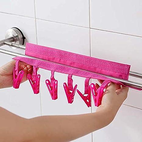 Amazon.com: Adaap - Pinza de secado portátil para colgar ...
