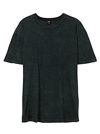 Alternative Mens Acid Wash T-Shirt XX-Large Acid Green | Amazon.com