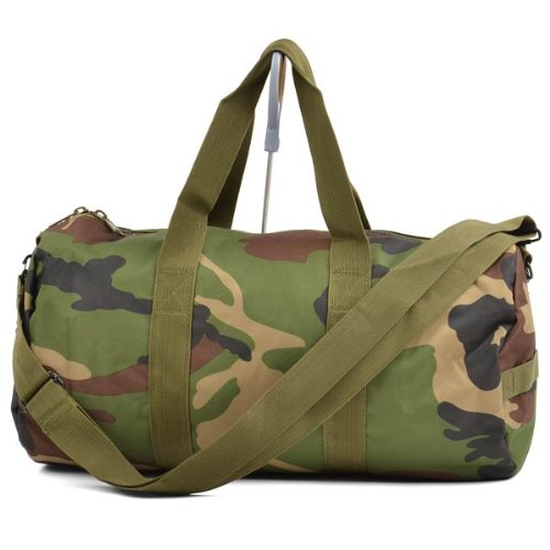 Rothco Woodland Camo Shoulder Bag, 19'' (Woodland Camouflage Shoulder Bag)