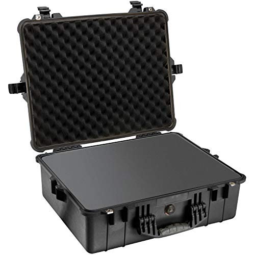 (Pelican 1600 Case With Foam (Black))