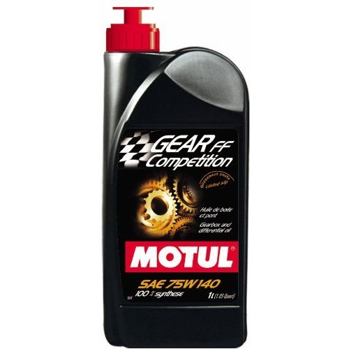 Motul 823511 Gear FF Competition 75W140 100 Percent Synthetic Ester Based Racing Lubricant for Limited Slip Differential (LSD) - 1 (Lsd Limited Slip Differential)