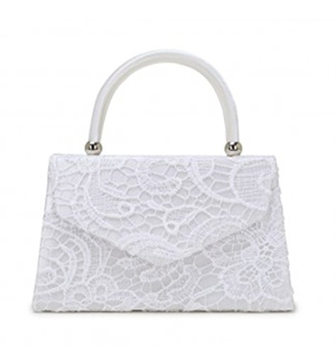 Bag s Body Cross Lace Purser Bags White Handbag Evening Clutch Bag Women's Off Wedding Top LeahWard qwSZ1TT