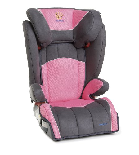sunshine kids monterey booster car seat pink amazonca baby