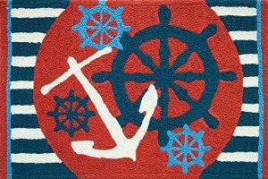 Jellybean Anchors Away Ships Wheel Nautical Sailing Area Acc
