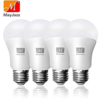 MayJazz 4 Pack (150-200W Equivalent) Standard Replacement,A21 20W 2200 Lumens Non Dimmable Led Light Bulb 3000K Warm White Lamp,E26 Medium Screw Base Led Bulb