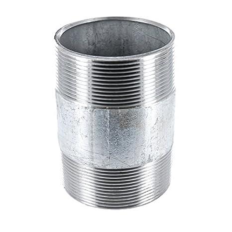 "23 Länge 150 mm DIN 2982 Stahlrohr 2x AG 1//4/"" verzinkt Nr"