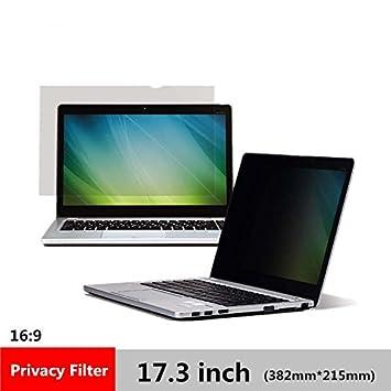 CYDYSY 17,3 pouces Filtre de confidentialité Film de protection d écran  pour ordinateur 2387f7461823