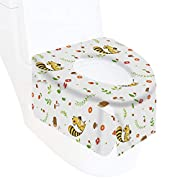 Disposable Toilet Seat Covers Individually Packaged XL Size Set 20 Units,Baby Potty Training,Toddlers,Kids by Wakakaka