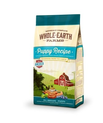 "WHOLE EARTH PUPPY 5LB ""Ctg: OTHER PET FOODS - WHOLE EARTH FARMS DOG DRY"""