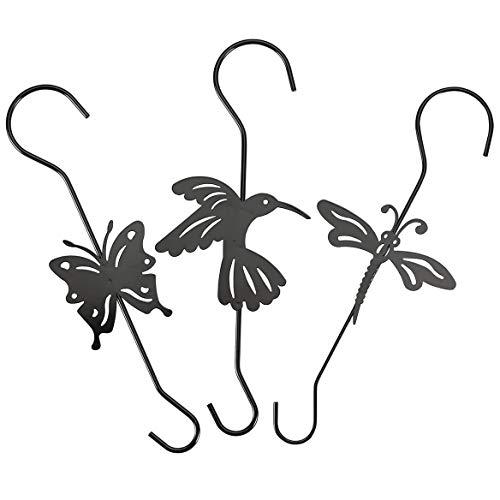 Metal Plant Hangers, Set of 3 -
