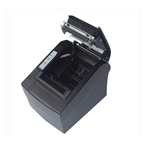 Pos-8220 Kompakter kabelloser Wifi Pos-Thermobondrucker, 80 mm, automatische Schneidevorrichtung, USB + Wifi, wasserdichter, ölbeständiger Thermodrucker - Schwarz