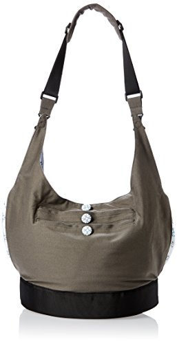 EquiptBaby Soft Base Diaper Bag & Changing Pad, Grey