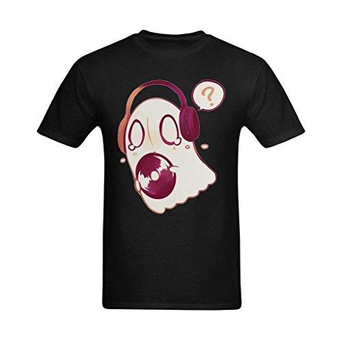 Definite Myself Men's Napstab Look Music Logo Art Design T-Shirt - Fashionable Tshirt US Size 2XL