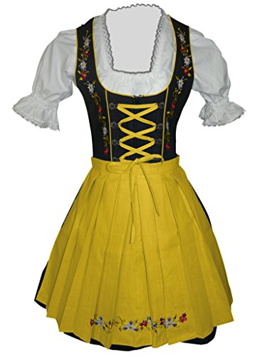 Dirndl-s Di06gs 3pcs. Size 18, women Oktoberfest drindle-s dress-es ()