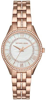 Michael Kors Women's Lauryn Three Hand Quartz Movement Watch