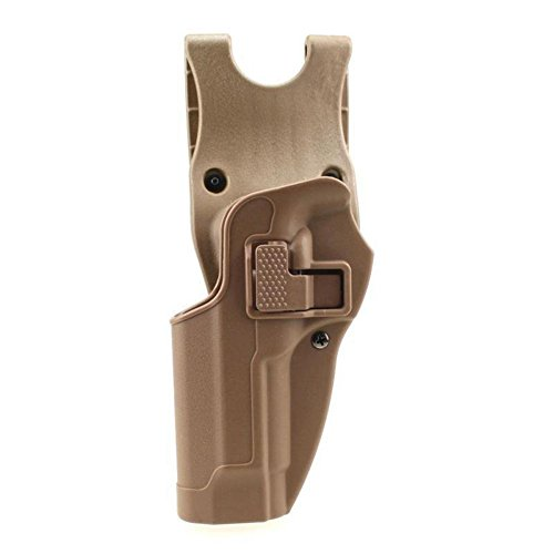 quanlei Tactical Holster Left Hand Paddle Waist Belt Pistol Holster for Beretta M92 M9 (Tan)