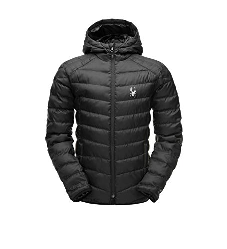 Uomo Synth Hoody Nero Spyder Giacca Geared EIqFCF