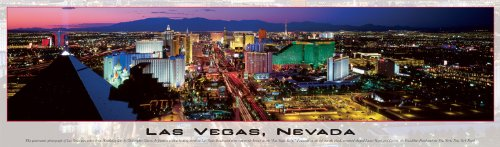 Buffalo Games Panoramic, Las Vegas - 750pc Jigsaw Puzzle
