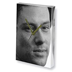CORY MONTEITH - Canvas Clock (A5 - Signed by the Artist) #js003