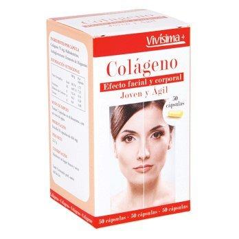 VIVISIMA+ colageno envase 50 capsulas: Amazon.es: Salud y cuidado personal