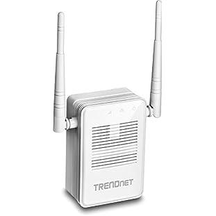 TRENDnet AC1200 WiFi Range Extender, Gigabit, MIMO, Dual Band, Beamforming, TEW-822DRE