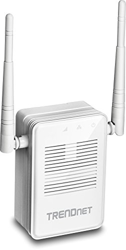 Trendnet Wireless Vista (TRENDnet AC1200 WiFi Range Extender, Gigabit Wired Port, Up to 867 Mbps WiFi AC + 300 Mbps WiFi N, TEW-822DRE)