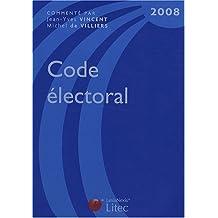 CODE ÉLECTORAL 2008 9ÈME ÉDITION