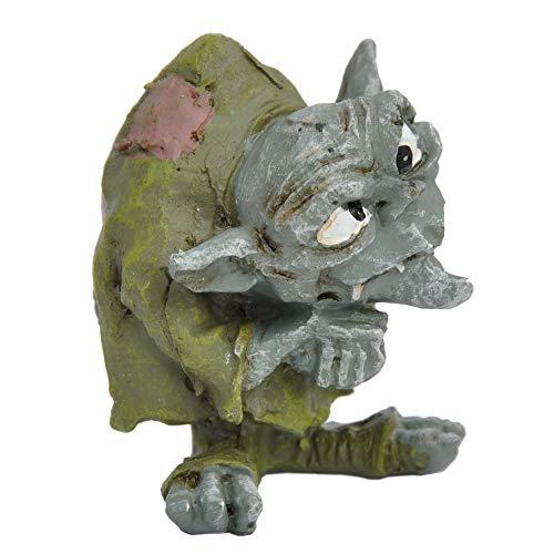 Miniature Fairy Garden Ollie the Troll