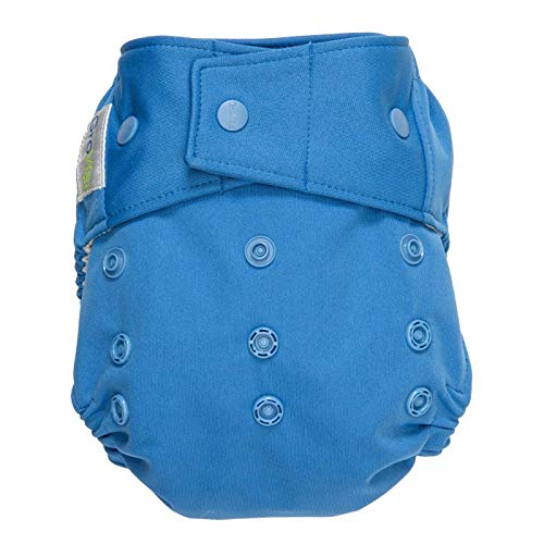 GroVia Reusable Hybrid Baby Cloth Diaper Snap Shell (Topaz)