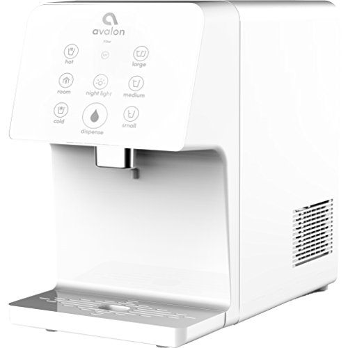 Avalon A9ELECTRICWHT Electric Countertop Bottleless Water Cooler Water Dispenser, White