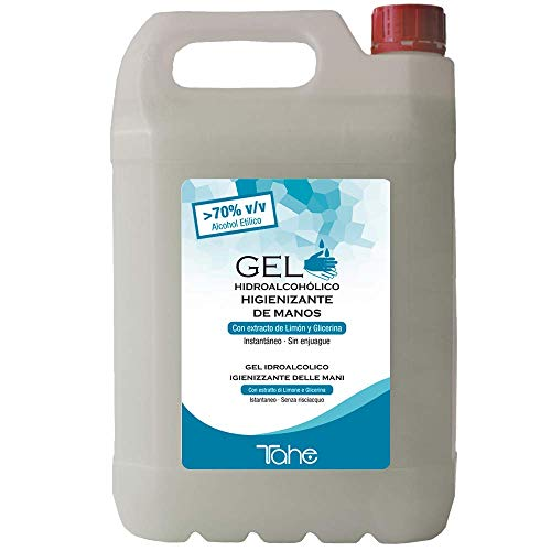 🥇 Tahe – Gel Hidroalcohólico Higienizante de Manos 5L