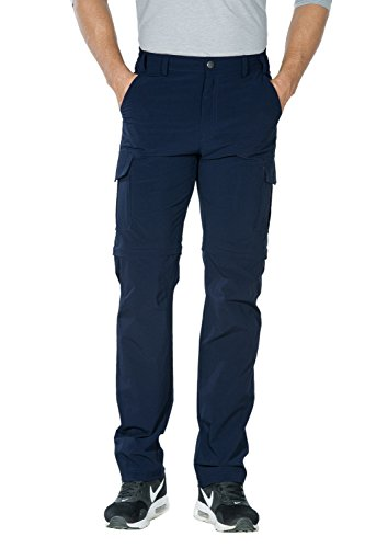 Unitop Men's Fashion Hiking Pants Blue 36/34