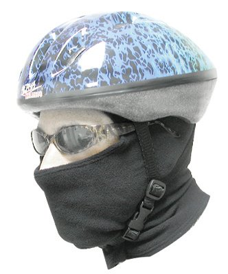 Pace P3+ PolyPro Cycling Balaclava (Black, One Size)